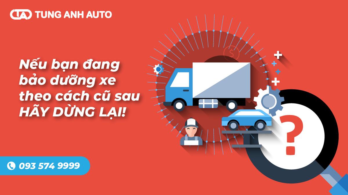 Nếu bạn đang bảo dưỡng xe theo cách cũ sau, hãy dừng lại!!!
