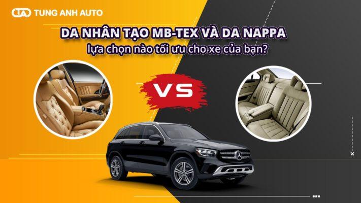 90% xe Mercedes-Benz thông thường được trang bị nội thất làm từ da nhân tạo MB-Tex, chỉ 10% còn lại được sử dụng da tự nhiên Nappa, đó là các dòng xe cao cấp của Mercedes-Benz.