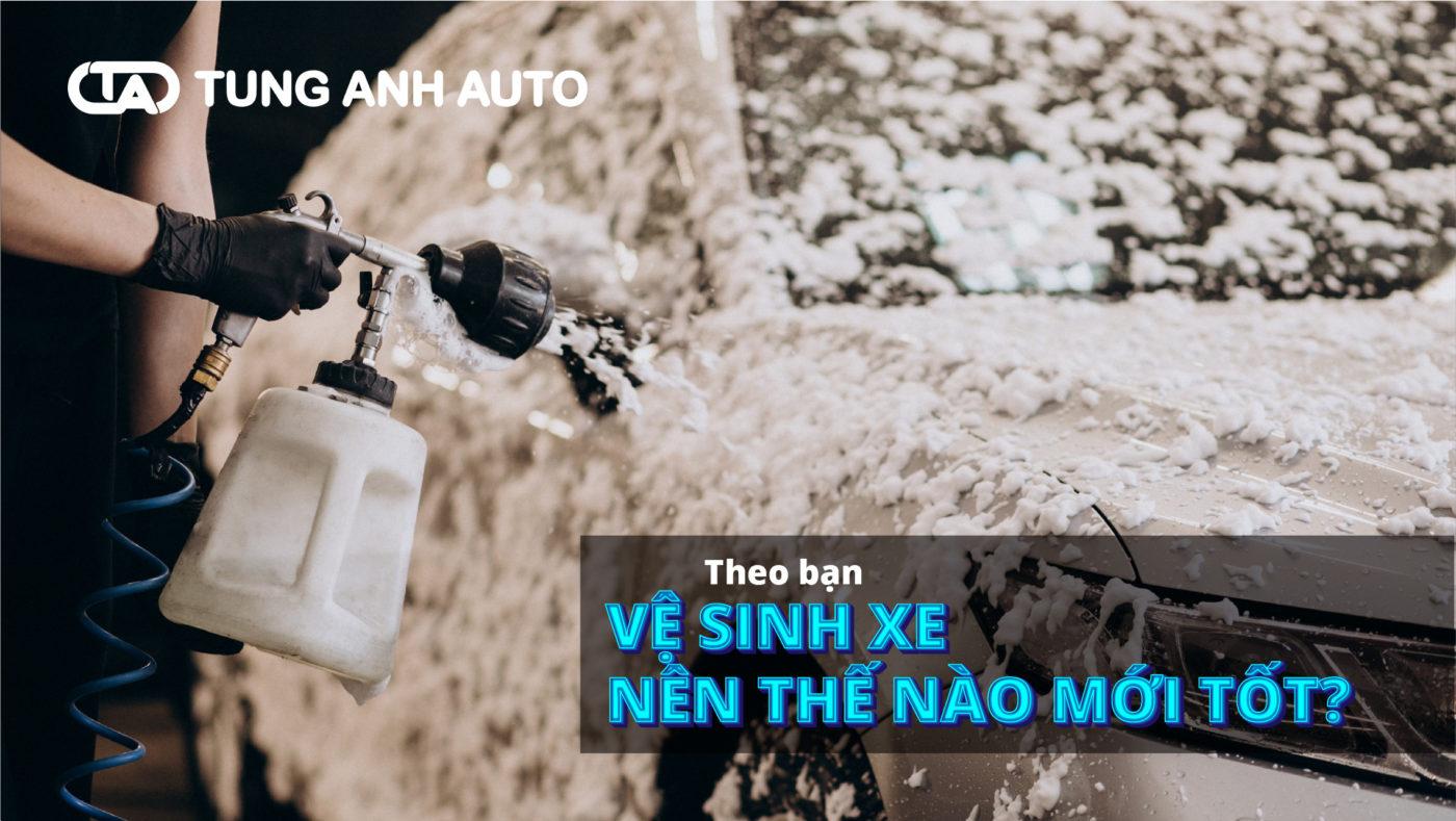 Có phải rửa xe ở đâu thì cũng như nhau? Chưa chắc!