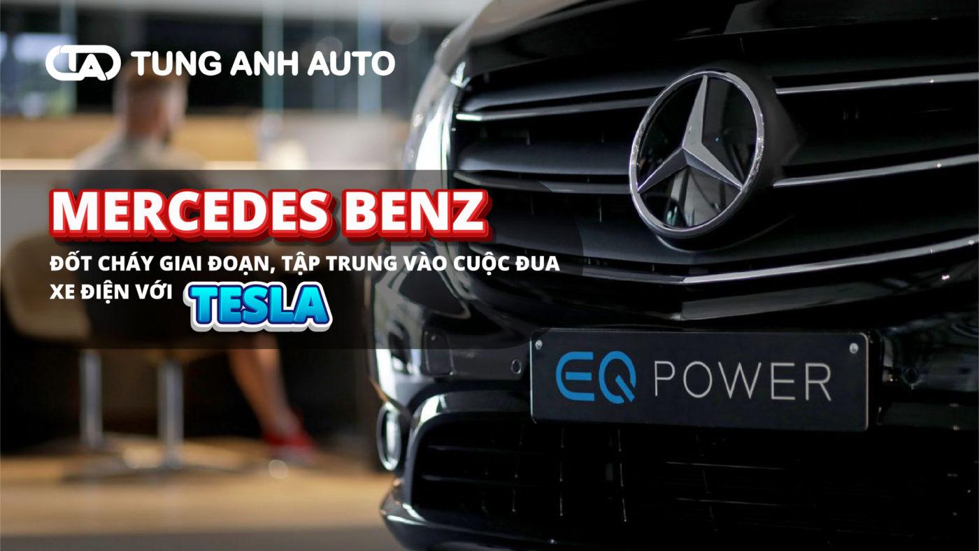 Mercedes-Benz có kế hoạch đầu tư hơn 40 tỷ euro ( tương đương 47 tỷ USD) vào năm 2030 để sẵn sàng cạnh tranh với Tesla trong thị trường ô tô chạy hoàn toàn bằng điện